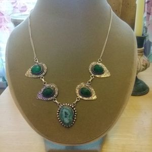 Handmade Necklace and Earring Set